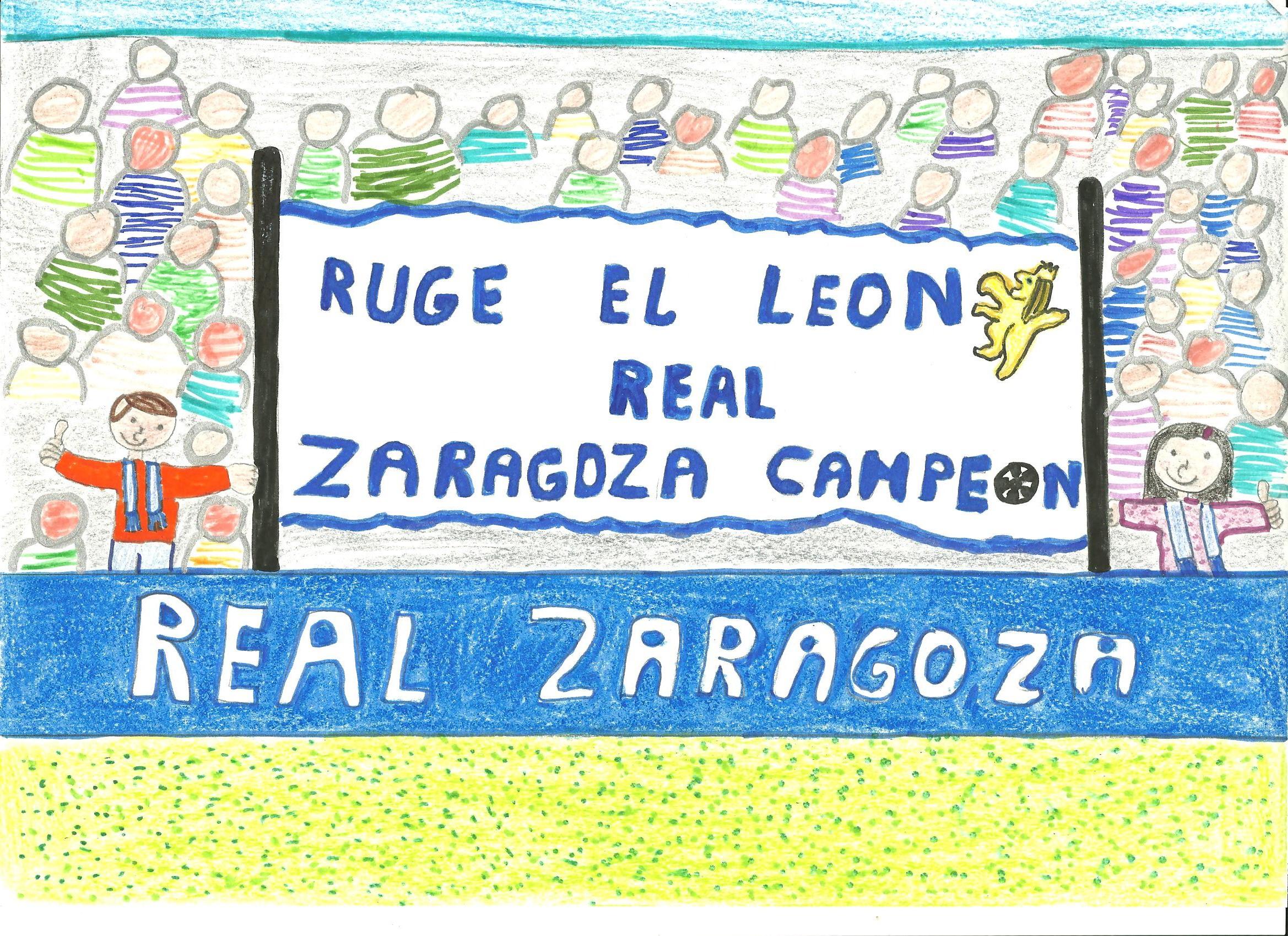 Ganadores del concurso de dibujo infantil federaci n de for Oficinas real zaragoza