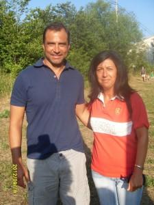 Rosa Cuenca con J.E.Esnáider en Alcalá de Selva (2013)
