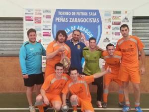 Equipo ganador de Morata de Jalón