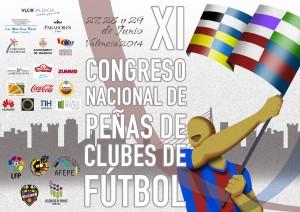 Cartel XI Congreso AFEPE Valencia 2014