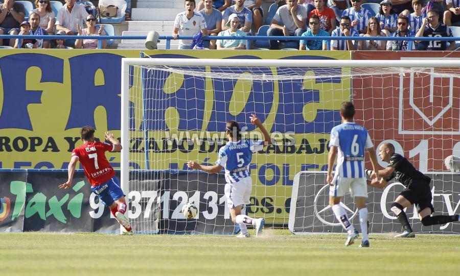Gol Eldin Leganés Real Zaragoza