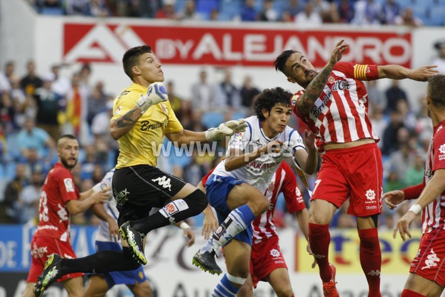 Real Zaragoza Girona playoff ascenso
