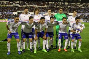 Alineación del Real Zaragoza 26-Feb-2017
